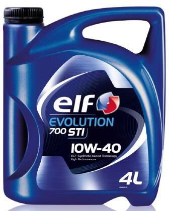 OLEJ 10W-40 ELF EVOLUTION 700 STI 4L ELF