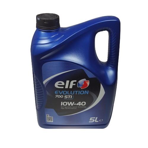 OLEJ 10W-40 ELF EVOLUTION 700 STI 5L ELF