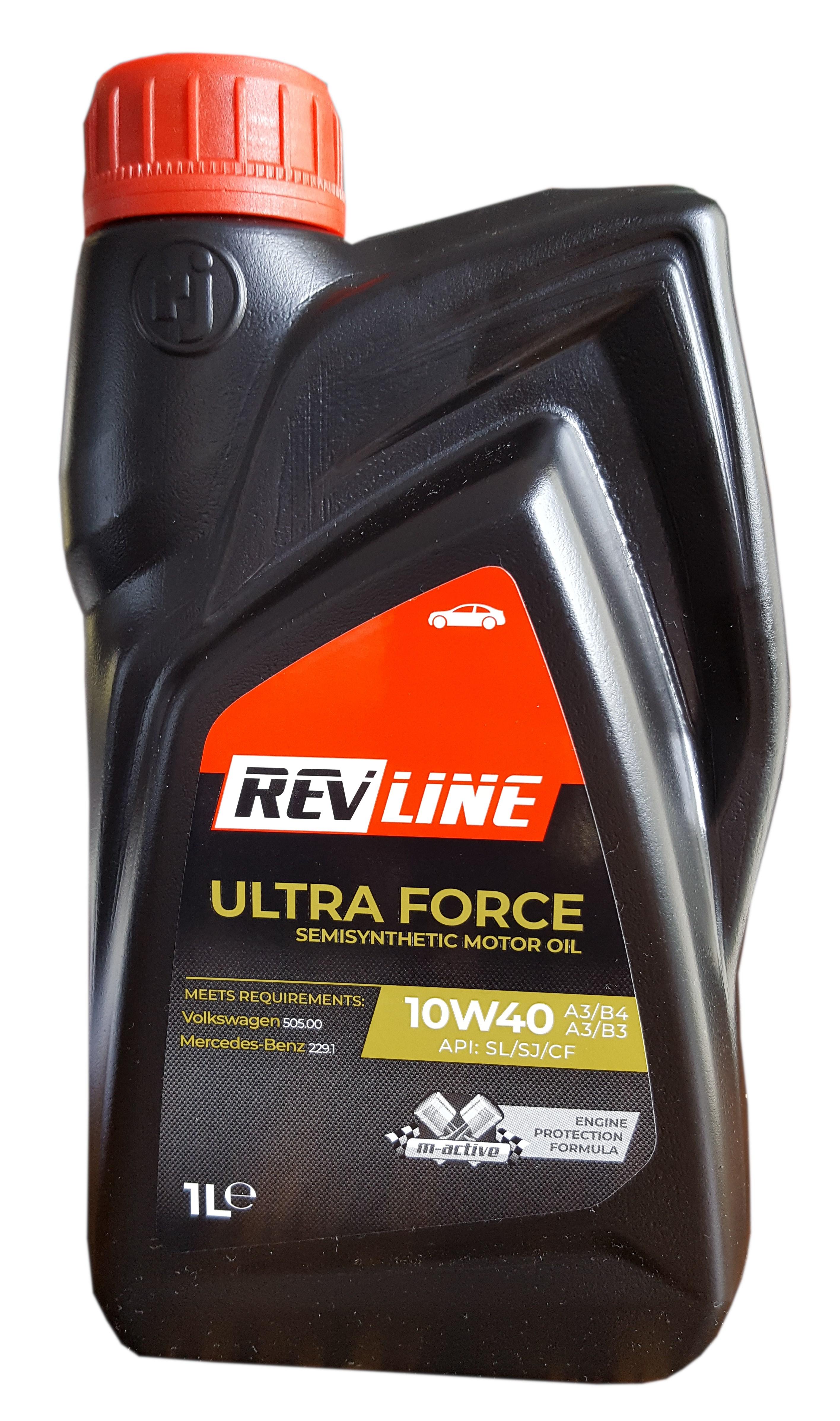 REVLINE SEMISYNTHETIC 10W/40 1 L REVLINE 10W40 SS 1/REV