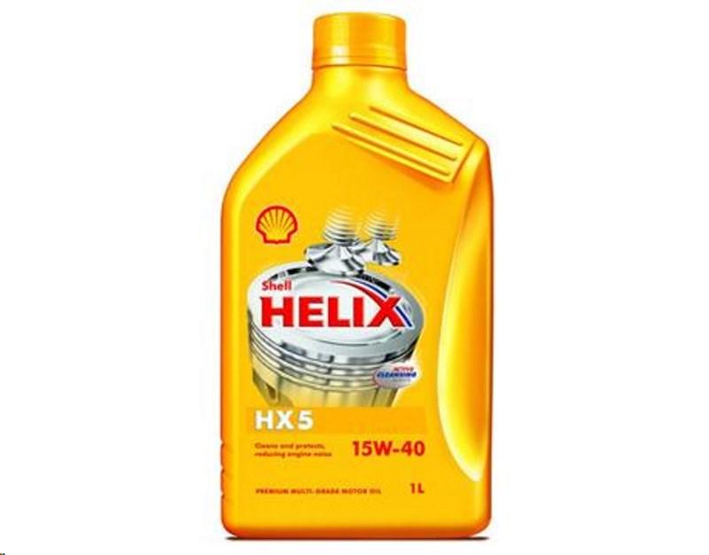 OLEJ 15W-40 HELIX SUPER HX5 1L SHELL