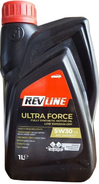 REVLINE ULTRA FORCE C3 5W/30  1 L REVLINE