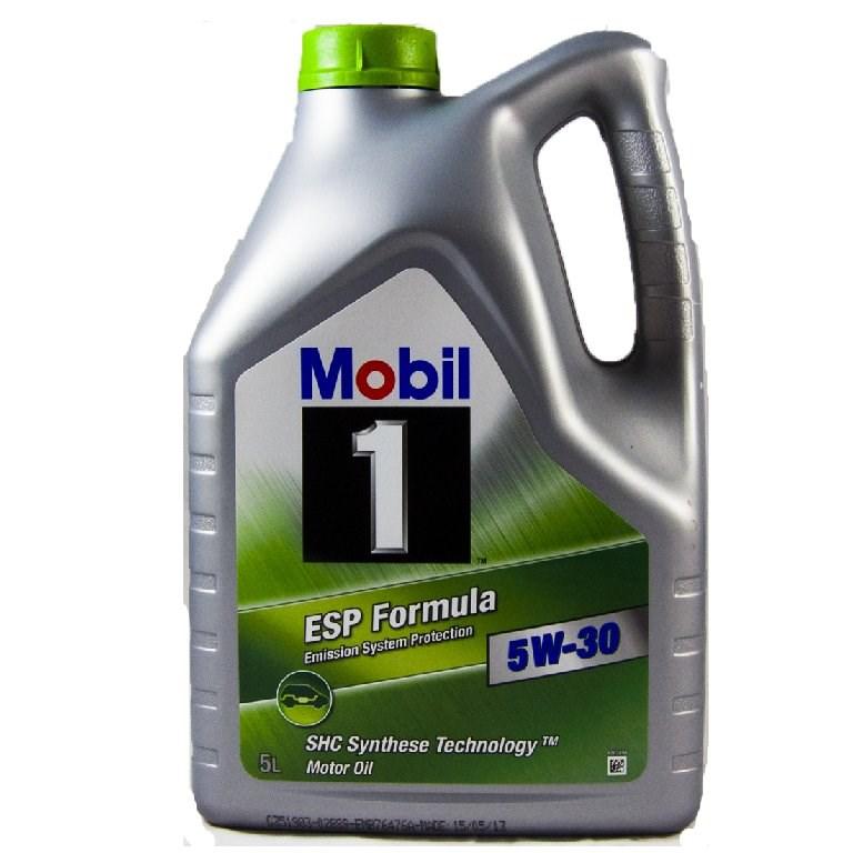 OLEJ 5W-30 MOBIL1 ESP FORMULA 5L MOBIL