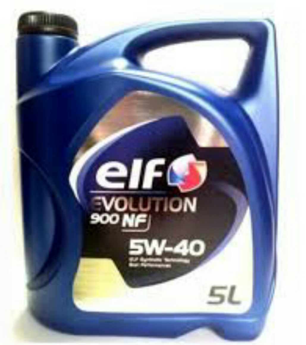 OLEJ 5W-40 ELF EVOLUTION 900 NF 5L ELF