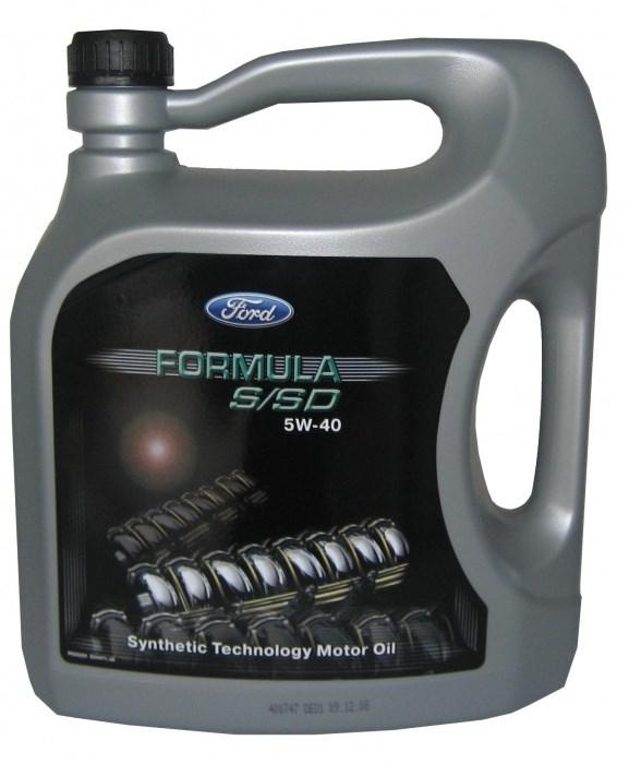 OLEJ 5W-40 FORD FORMULA S/SD 5L FORD 5W40 FORD 5/FOR