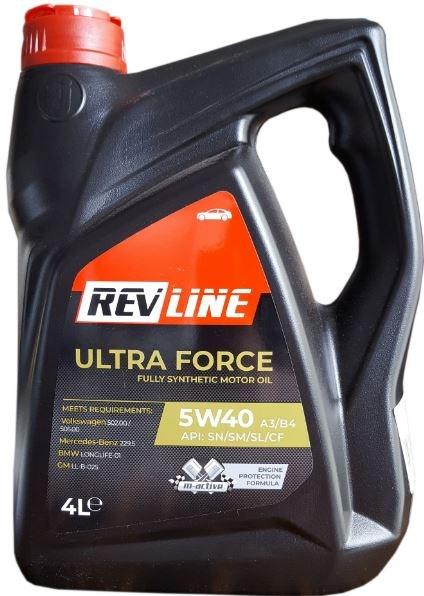 REVLINE SYNTHETIC 5W/40 4 L REVLINE 5W40 SYN 4/REV