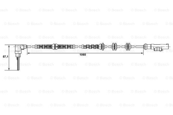 Czujnik prędkości obrotowej koła (ABS lub ESP)